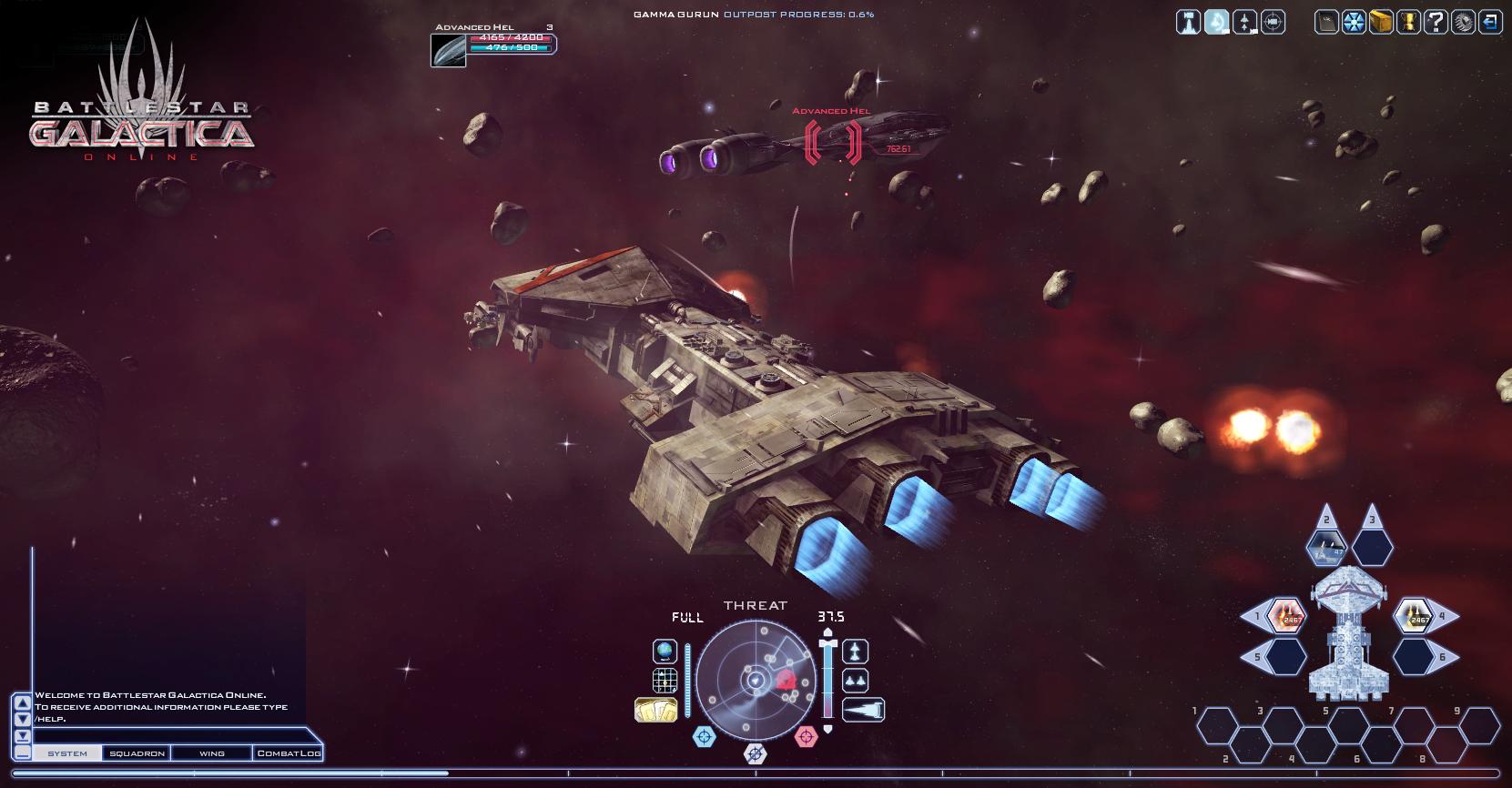 Battlestar Galactica Online (2)