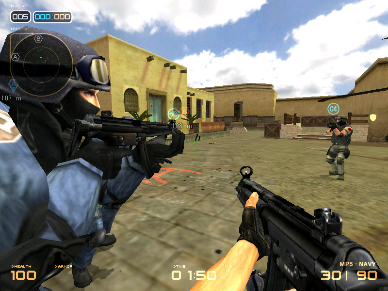 cross fire online game