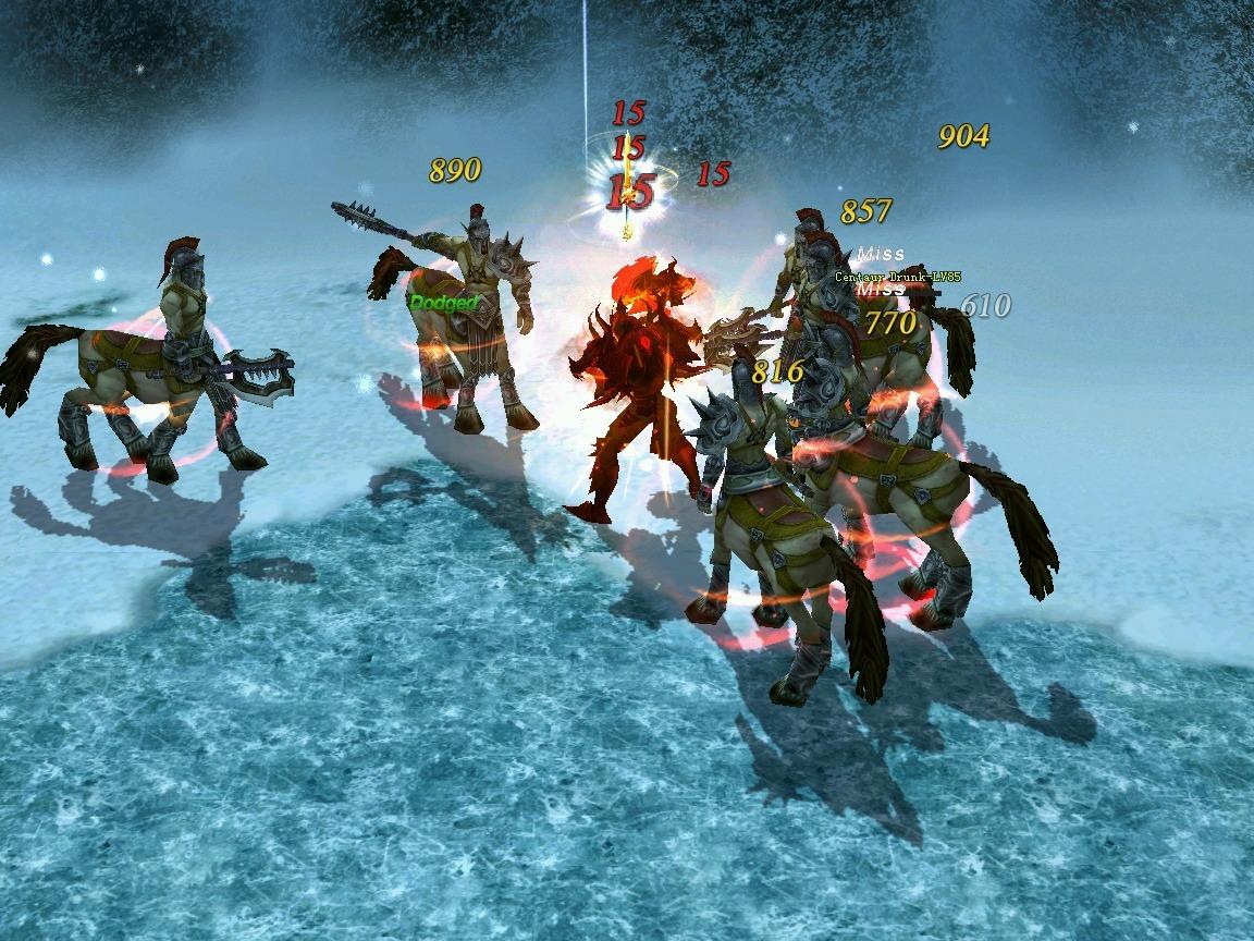 Battle of the Immortals (2)