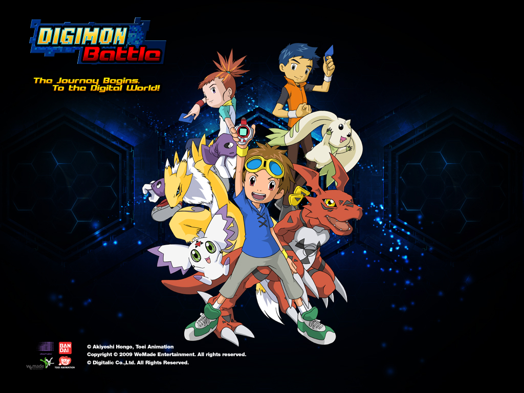 Digimon Battle wallpaper