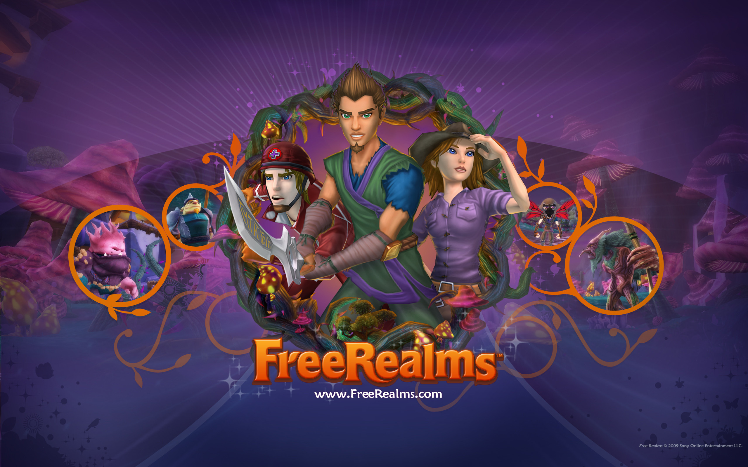 Free Realms wallpaper