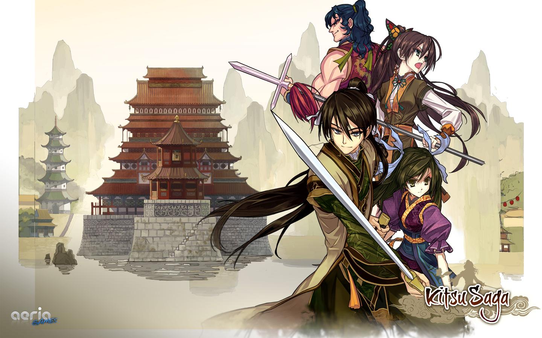Kitsu Saga wallpaper