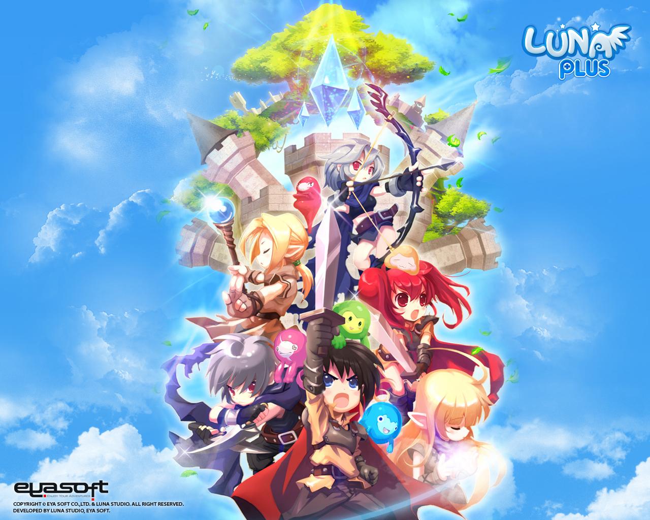 Luna Online wallpaper