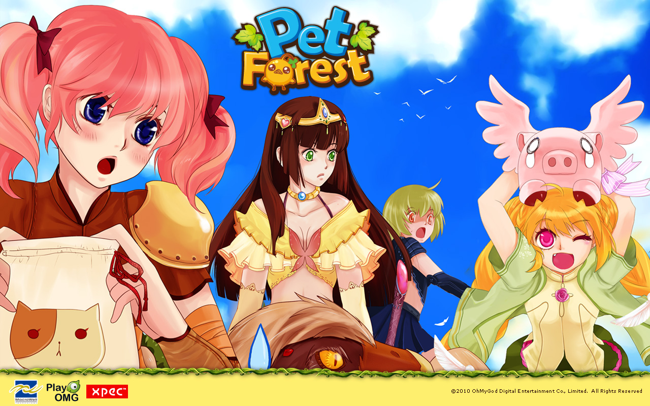 Pet Forest wallpaper