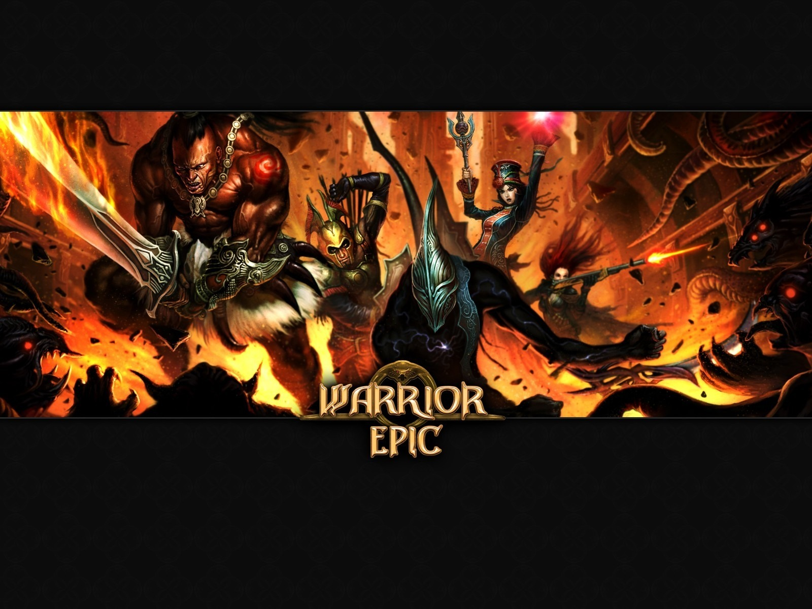 Warrior Epic wallpaper