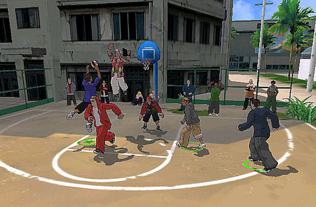 freestyle street basketball (2)