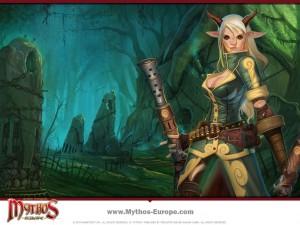 Mythos Wallpaper