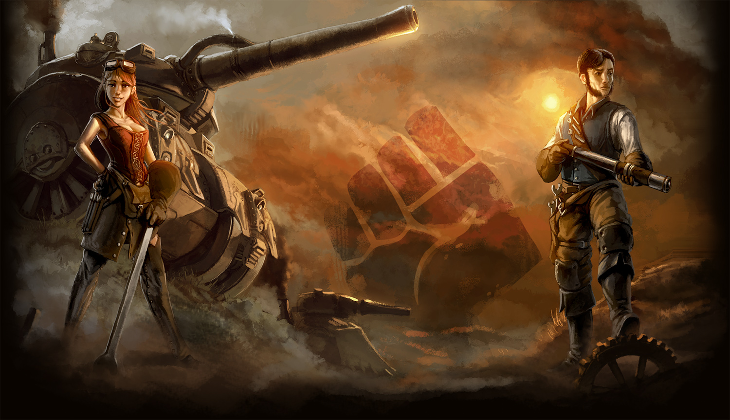Steel Legions Wallpaper