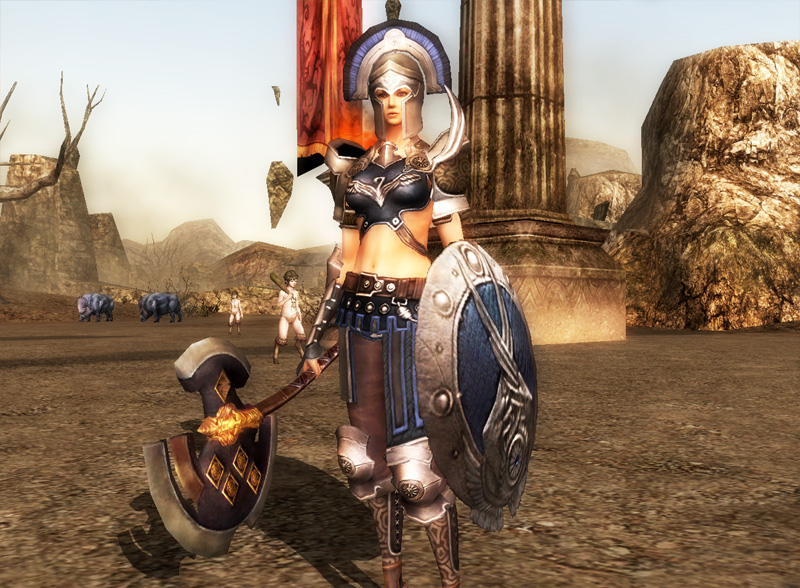 Troy Online Game