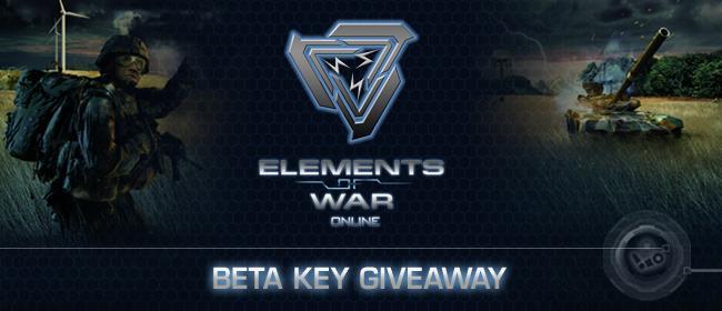 Elements of War Online Beta Key Giveaway