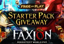 Faxion Online Exclusive Starter Pack Giveaway