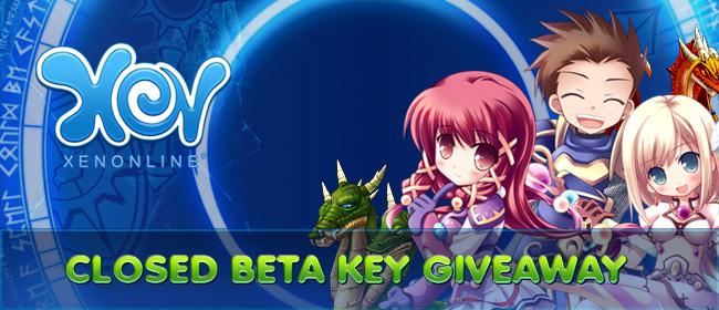 Xen Online Closed Beta key Giveaway
