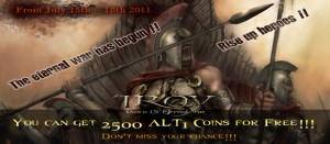 Troy Online 2nd Closed Beta Key and ALT1 Coins Giveaway 1