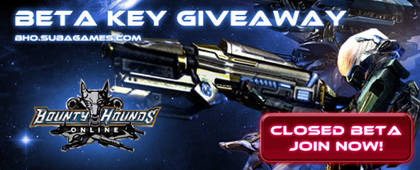 Bounty Hounds Online Closed Beta Key Giveaway