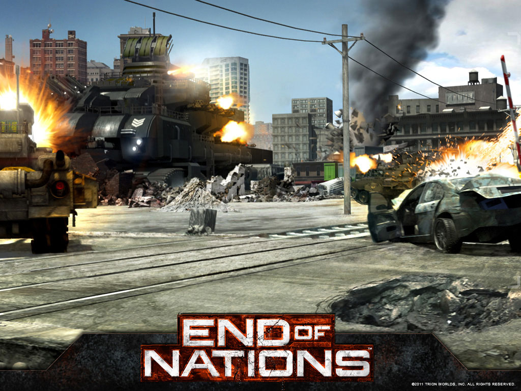 End of Nations Wallpaper