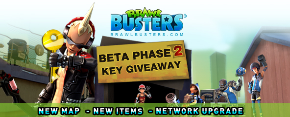 Brawl Busters Closed Beta 2 Key Giveaway