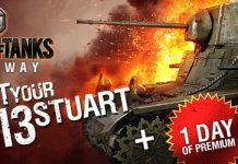 World of Tanks M3 Stuart Giveaway 2