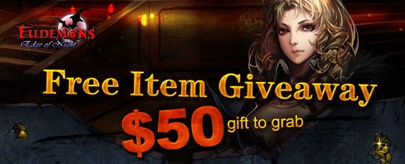 Eudemons Online Gift Pack Giveaway