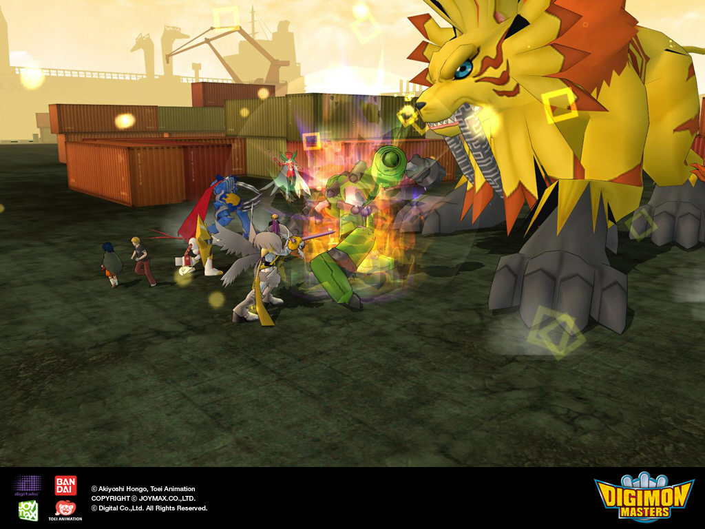 digimon masters review and download