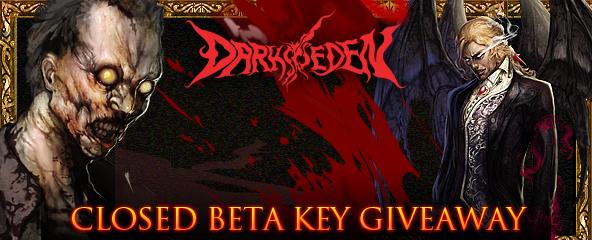 DarkEden Closed Beta key Giveaway