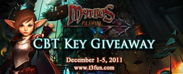 Mythos Global Closed Beta Key Giveaway