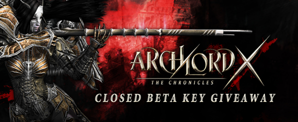 Archlord X Closed Beta Key Giveaway