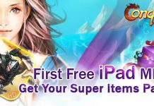 Conquer Online (Ipad) Item Pack Giveaway 1