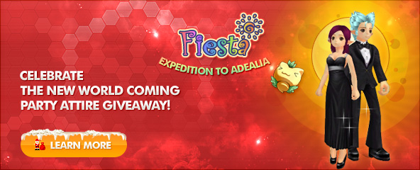 Fiesta: Expedition To Adealia Item Giveaway