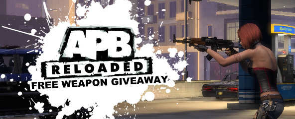 APB Reloaded Free Weapon Giveaway