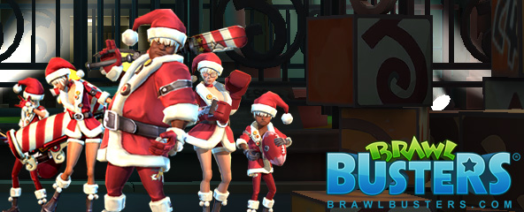 Brawl Busters Santa Hat Item Giveaway