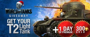 World of Tanks T2 Light Tank and Gold Giveaway 2