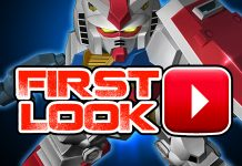 SD Gundam Capsule Fighter Online First Look Video