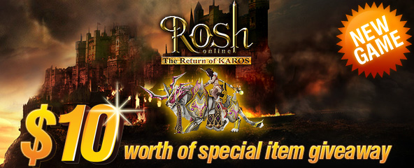 Rosh Online Exclusive Mount Giveaway