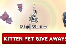 Bright Shadow Free Pet Giveaway 1