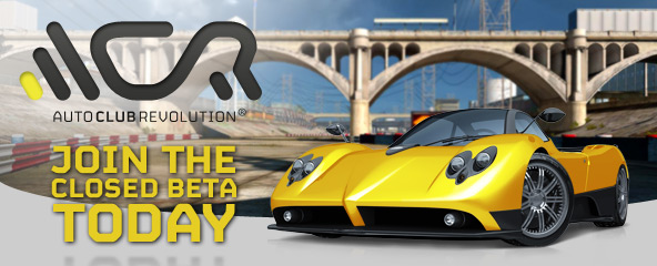 Auto Club Revolution Closed Beta Key Giveaway