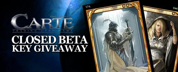Carte Closed Beta Key Giveaway
