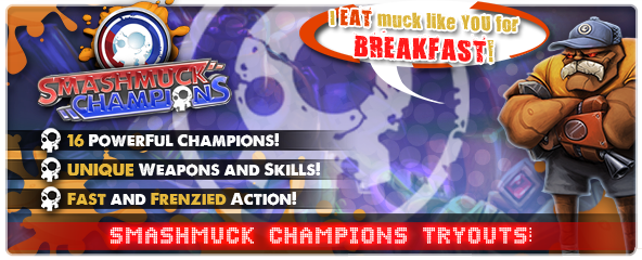 SmashMuck Champions Closed Beta Key Giveaway