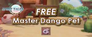Spirit Tales Master Pet Dango Giveaway 1