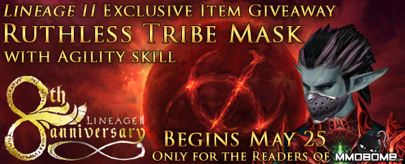 Lineage II Exclusive Item Key Giveaway