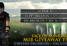 Face of Mankind MIB Item Pack giveaway 1
