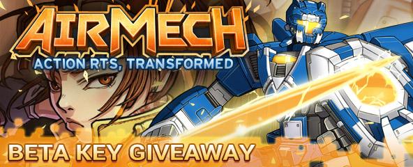 AirMech Beta Key Giveaway