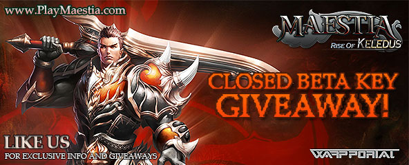 Maestia Closed Beta Key Giveaway