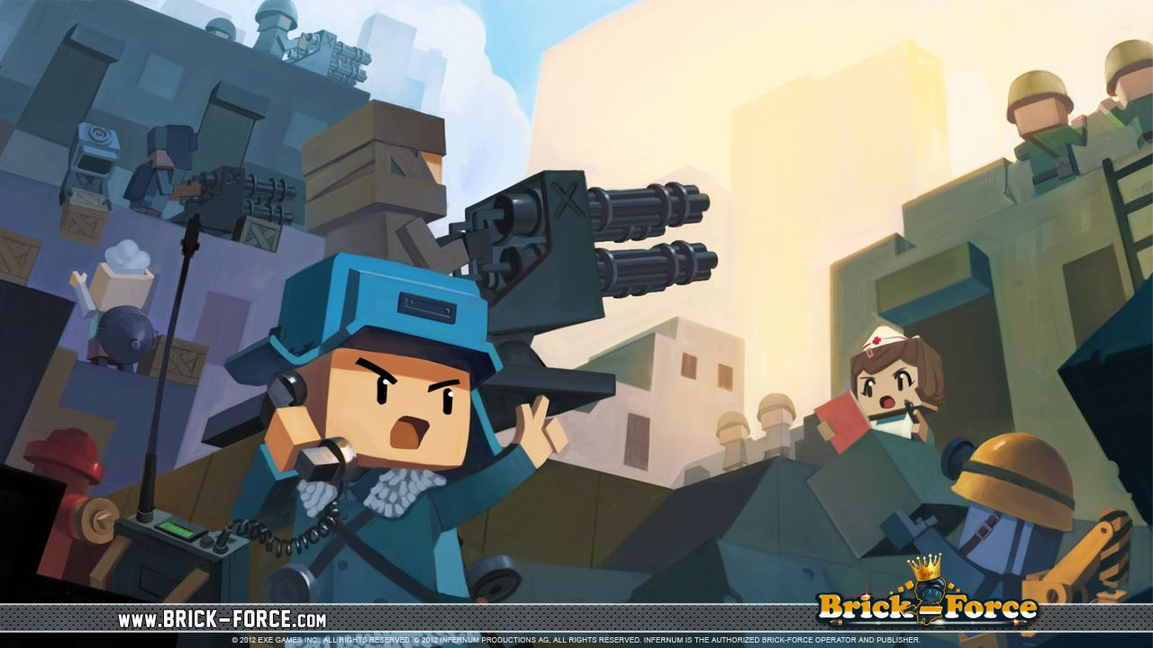 Brick Force Online Spielen