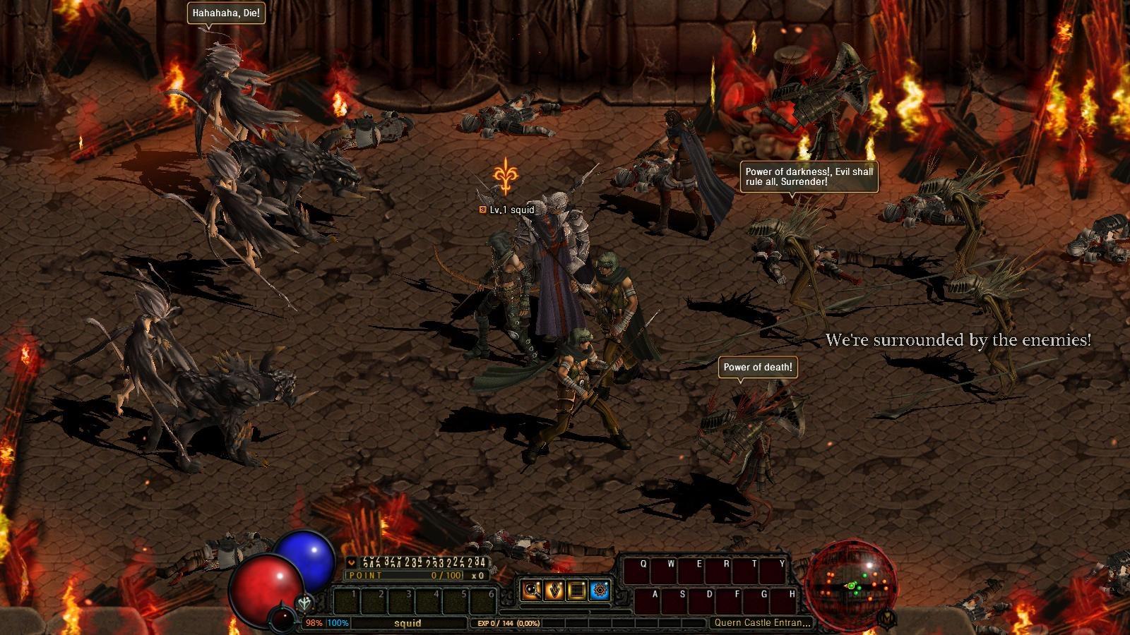 DarkBlood Castle Battle