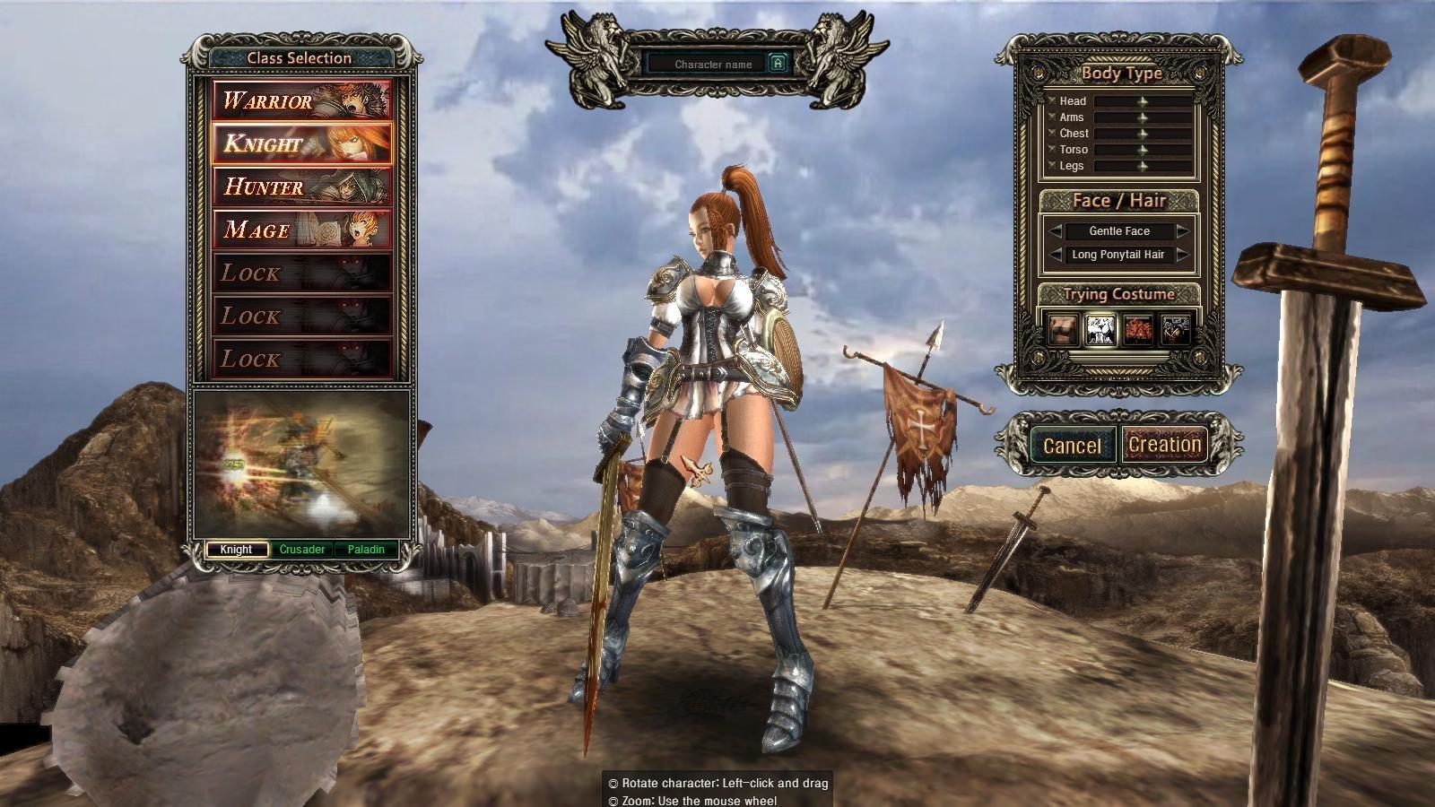 DarkBlood Knight Selection