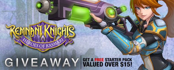 Remnant Knights Starter Pack Giveaway (worth $15)