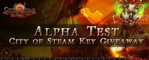 City of Steam Alpha Key Giveaway 2