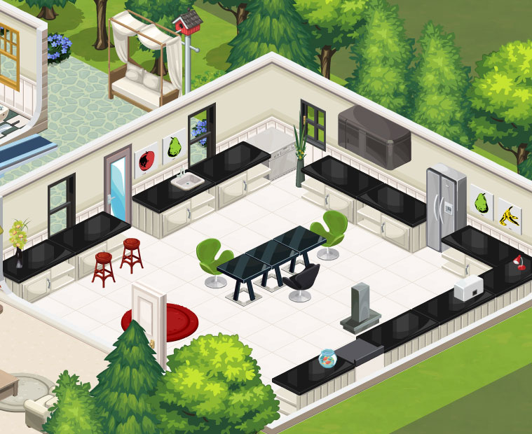 The sims social review and download Design home games