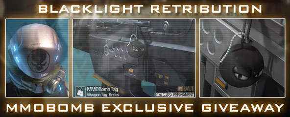 Blacklight Retribution: Exclusive MMOBomb Branded Item Giveaway