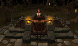 Runescape allows players to vote on botter's fate, death by dragon or ray of light 1
